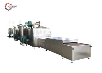 20KW Industrial Microwave Systems Machine For Green / Black Tea Leaves